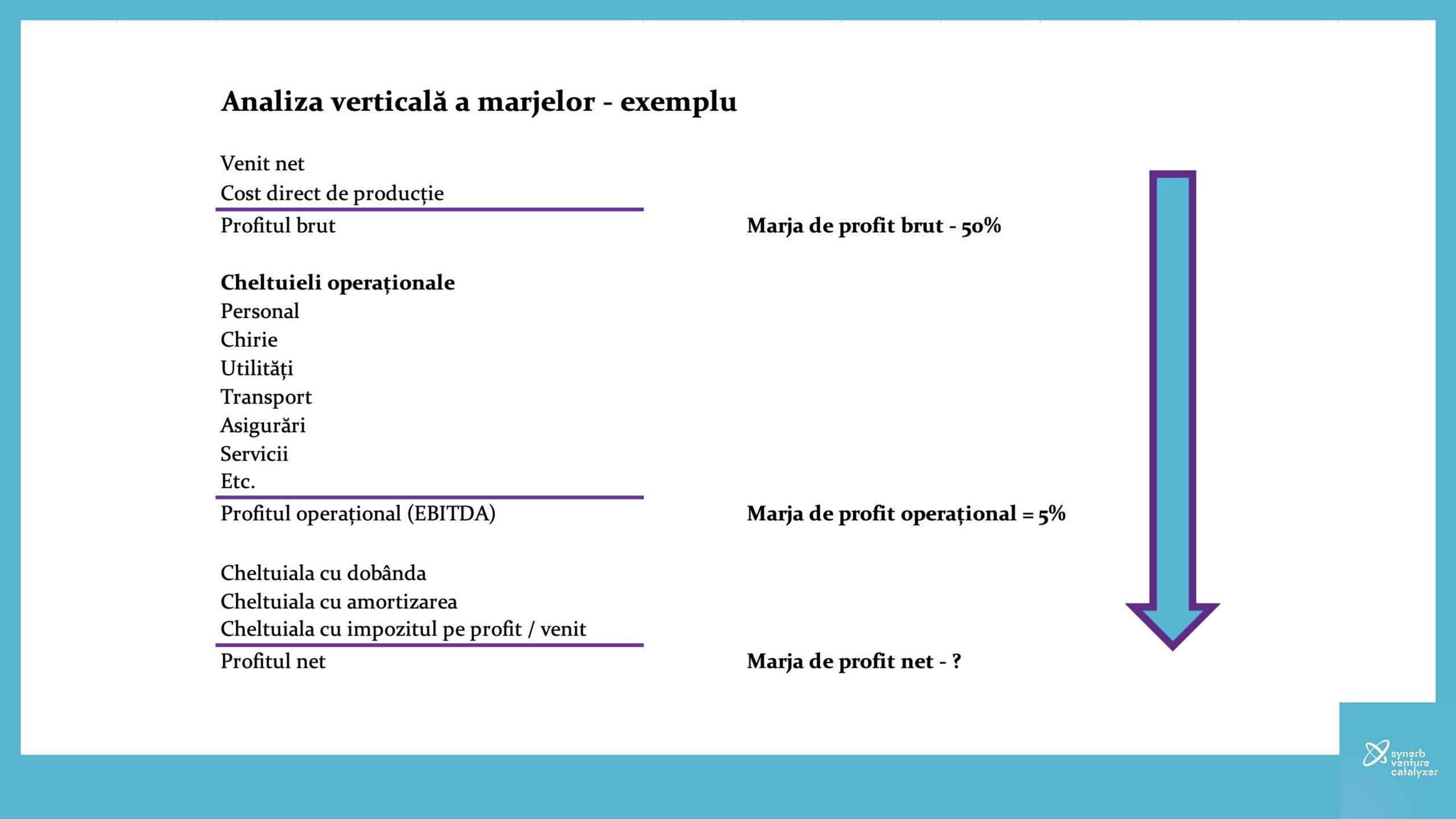 Synerb Analiza verticala marje